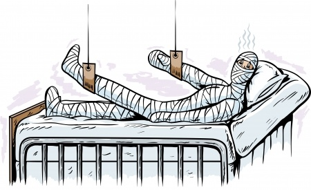 Image credit: <a href='http://www.123rf.com/photo_14410761_injured-man.html'>danomyte / 123RF Stock Photo</a>